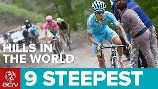 Bikers Rio Pardo | Vídeos | As 9 subidas mais íngremes do mundo segundo o Global Cycling Network