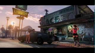 GTA 5 Trailer 1 Legendado Grand Theft Auto V Five (PS3