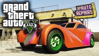 GTA 5: Z-Type (Bugatti Atlantic) BEST Customization Guide
