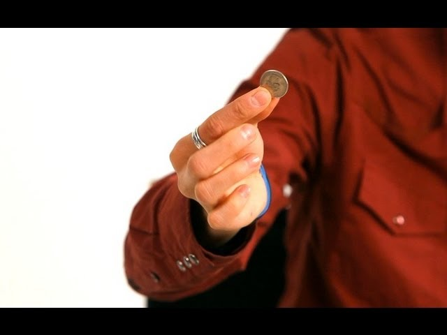 How to Do the Fist Squeeze Coin Vanish Trick | Magic Tricks