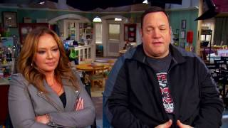 Kevin James and Leah Remini on 'Kevin Can Wait' // 'King of Queens' Reunion