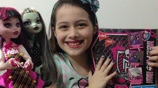 Review: Diário Monstruoso Monster High Por Julia