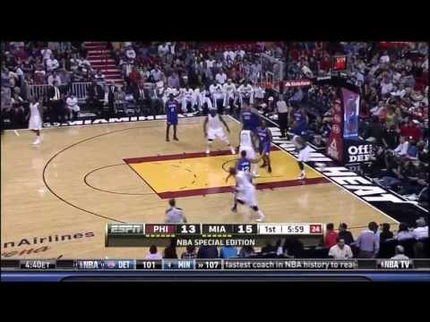 April 06, 2013 - NBATV - Game 76 Miami Heat Vs. Philadelphia 76ers - Win (60-16)(Gametime)