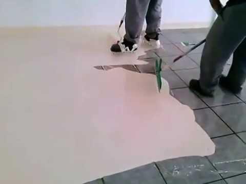 Tinta piso em ceramica -  QUIMATECNICA (11) 4057-2425