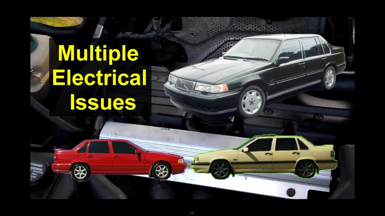 Volvo Multiple Electrical Issues, bad ignition switch, S70, 850, 960 ...