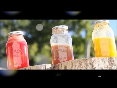♡ Delicious Fresh Fruit Juices | Grow Long Hair with Healthy Foods ♡