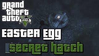 GTA 5 Easter Egg: Secret Hatch In The Ocean (GTA V