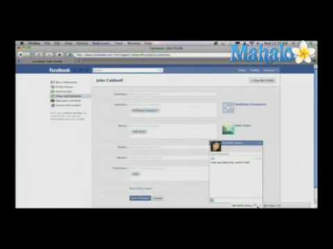 How to Use Facebook Chat