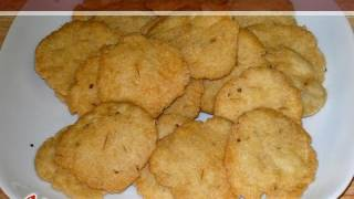 Salted Crackers (Mathri)..