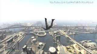 Amazing GTA V Superman Cheat Code Grand Theft Auto 5