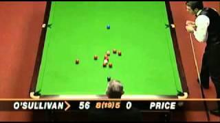 Ronnie O´Sullivan vs Mick Price