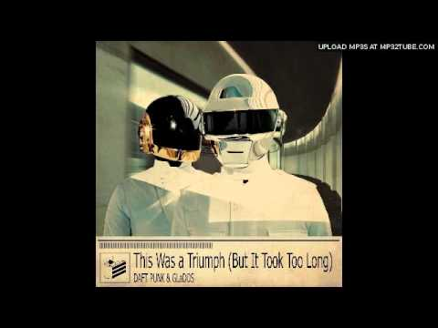 This Was A Triumph (But It Took Too Long) Daft Punk vs GlaDOS (Portal) ft Jonathan Coulton DJ Nerd42