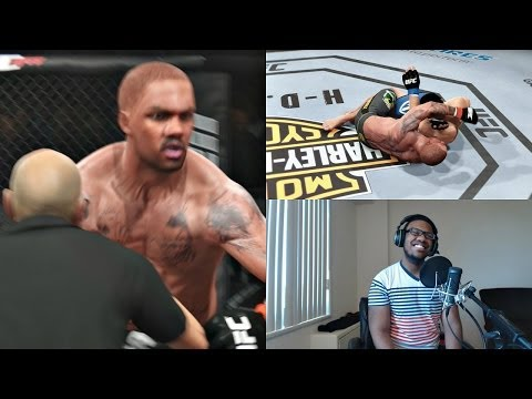 EA Sports UFC PS4 Career Mode Gameplay FACECAM - Death Choke!! Ep. 37