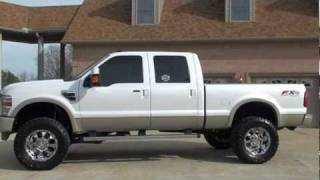 2010 FORD F 250 SD KING RANCH 4X4 LIFTED DIESEL FOR SALE