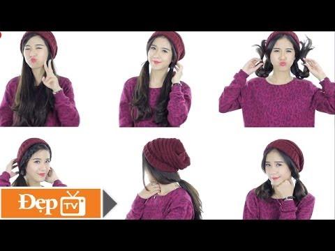 6 kiểu tóc đẹp, đơn giản để đội mũ len - Le Media JSC [Official]