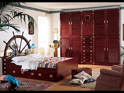 Arredamento stile marina per la zona notte camerette e - Arredamenti camere matrimoniali ...