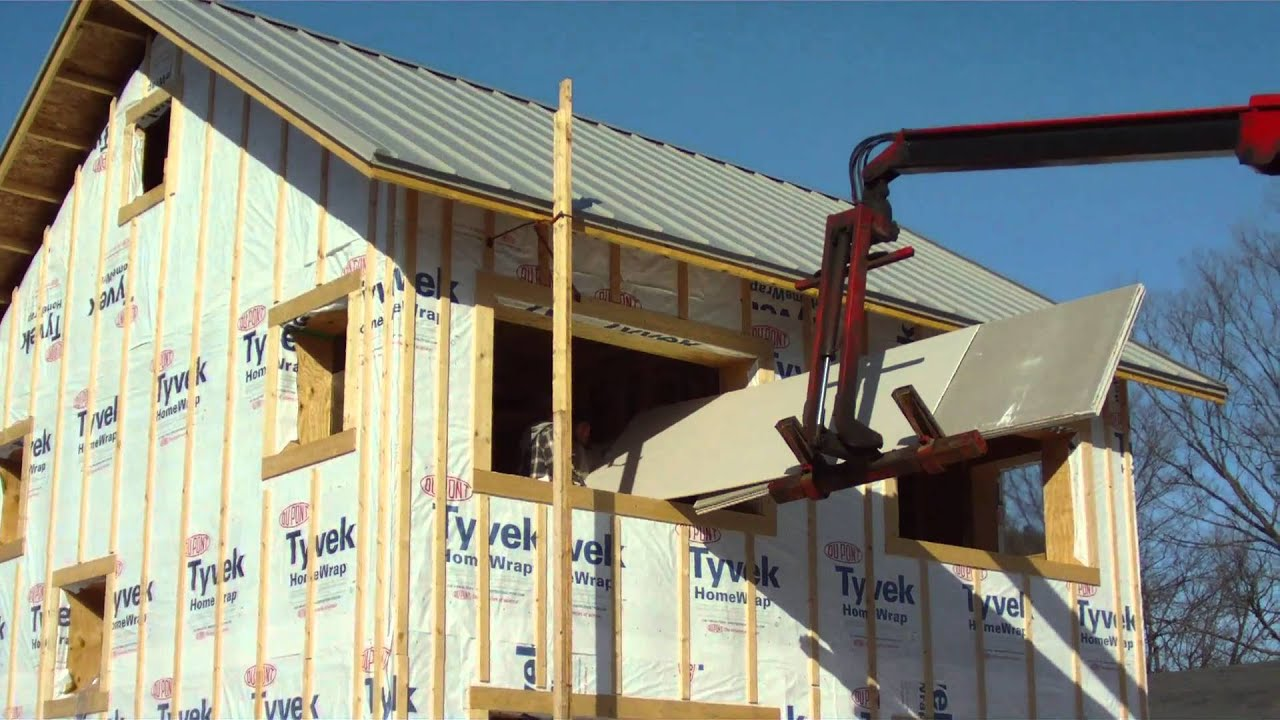 Synthetic free drywall delivered to newenhouse job site for Drywall delivery cost