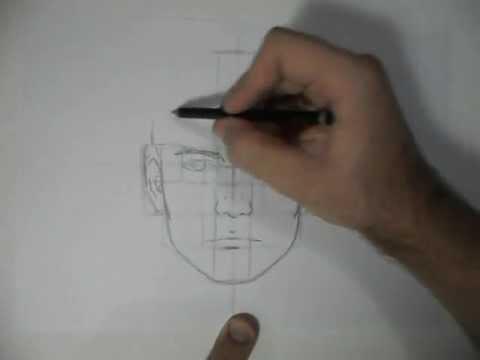 Como Desenhar: Rosto - proporções