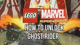 How To Unlock Ghost Rider LEGO Marvel Super Heroes