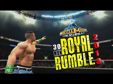 WWE 13 Royal Rumble 2013 Match