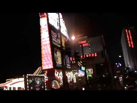 Las Vegas Hotel Circus Circus Casino Las Vegas Nevada am Strip Video Film Hochzeitsreise