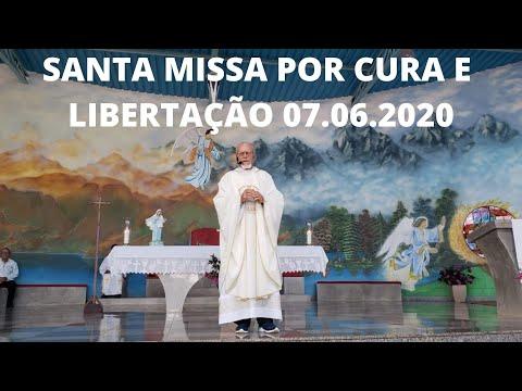 Santa Missa por Cura e Libertação | 07.06.2020 | Domingo | Padre José Sometti | ANSPAZ