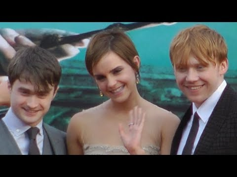 Harry Potter and the Deathly Hallows Part 2 Premiere London 2011 with Emma, Rupert and Daniel
