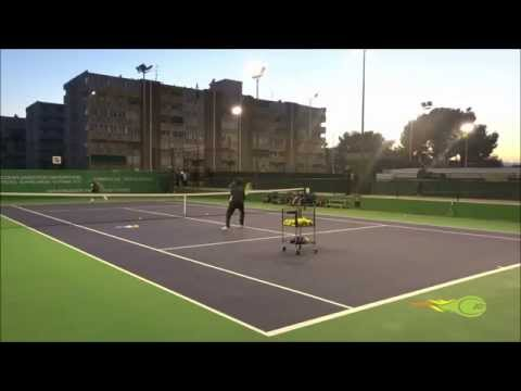 David Ferrer - Resto desde el lado de la ventaja y jugar el punto