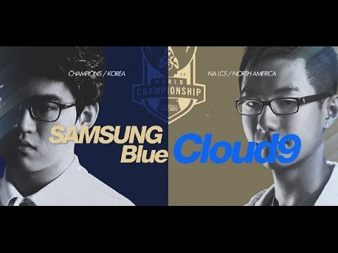 Samsung Blue vs Cloud 9/vòng tứ kết giải đấu CKTG mùa 2014