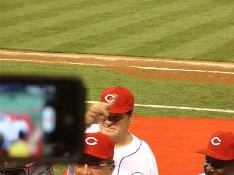 "Pete Rose Walks off Great American Ballpark to ""Hall of Fame"" cheers"