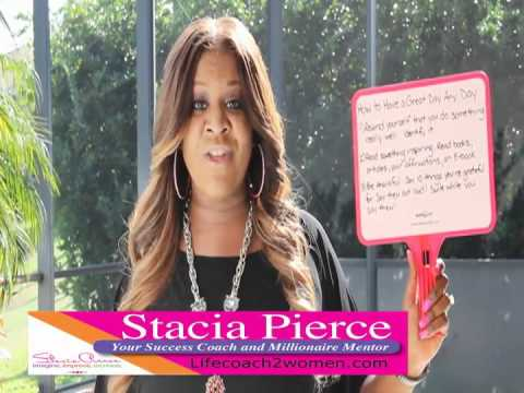 Stacia Pierce TV-How To Have A Happy Day Everyday