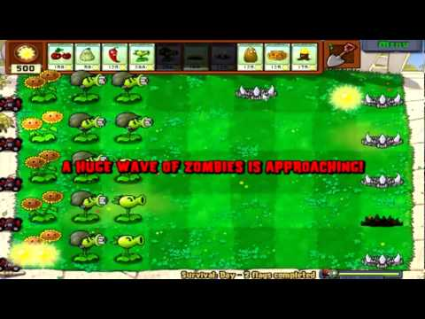 Plants Vs. Zombies Part 29: Survival Mode