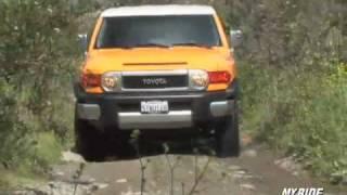 FJ Cruiser Miss FJ wheels Hells Gate on Hells Revenge videos