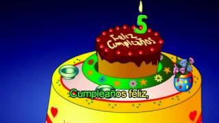 Feliz Cumpleaños infantil para niños