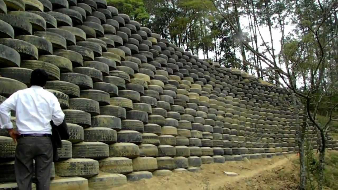 Muros De Contencion Con Llantas