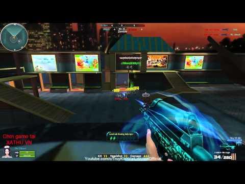 [XATHU.VN gameplay]#13: F2000 Mirage Zombie Khu Vui Chơi VaiLinhHon (Kênh Chính Thức)