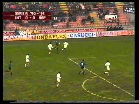 Интер - Наполи Серия А 1990/1991 год