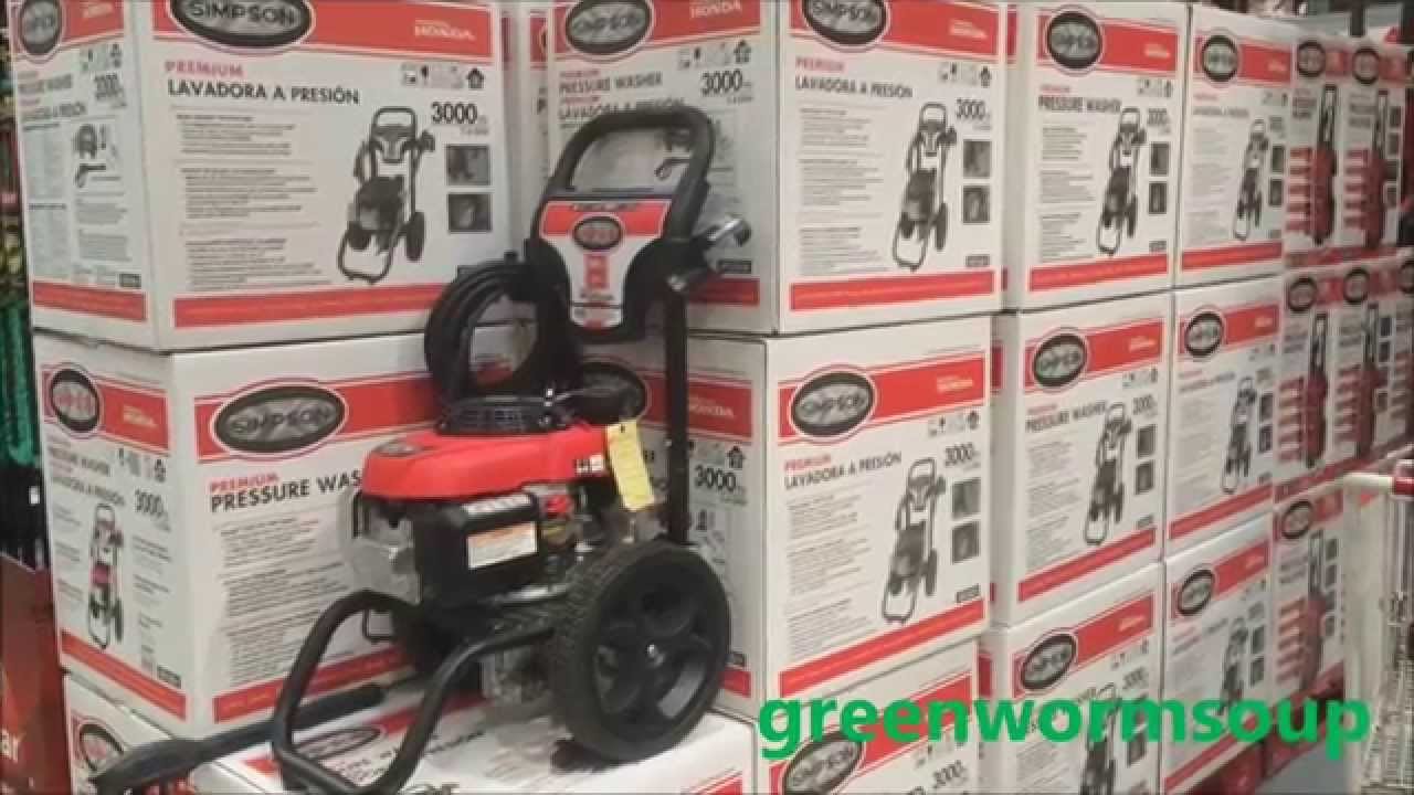 Honda Power Washer Costco Pictures
