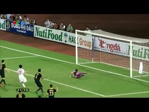 Vietnamese Messi - Cong Phuong Goal U19 Vietnam vs U19 Australia 1-0 (5th September 2014)