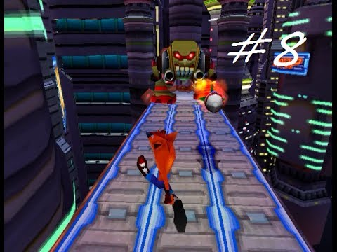 Let's Play Crash Bandicoot: Warped #8 - Shoot Some Fruit