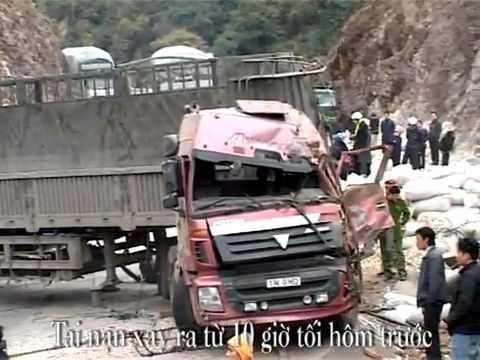 Tai nạn lật xe tải trên đèo Chiềng Đông - Yên Châu - Sơn La