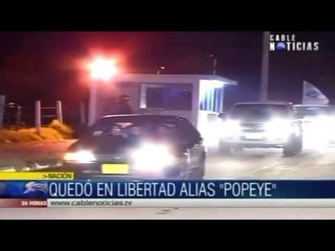 Liberan a 'Popeye', el sanguinario jefe de sicarios de Pablo Escobar