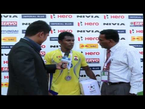 Interview with Sri Lanka's striker Mohamed Izzadeen - SAFF Championship 2013