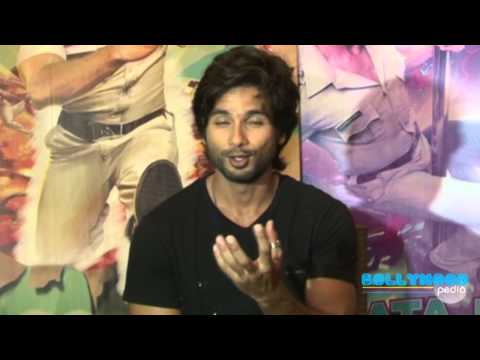 Interview of Shahid Kapoor and Illeana D Cruz for  Phata Poster NIkla Hero