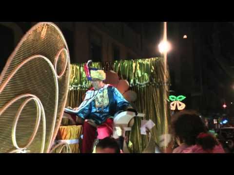 Reyes Magos 2011 Barcelona - Poble Nou 6.mpg