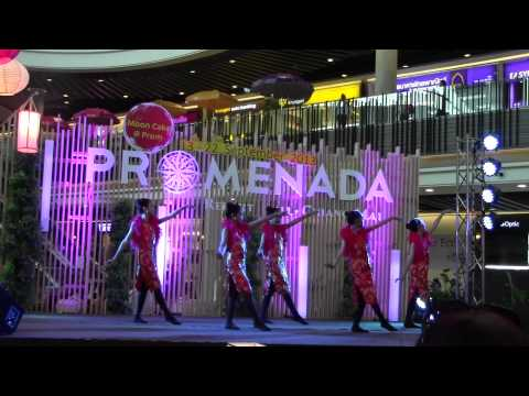 เถียนมีมี่  Dance show of Moon Cake  @Promenada by Hug Academy