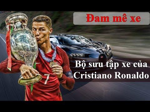 Bộ sưu tập siêu xe của Cristiano Ronaldo