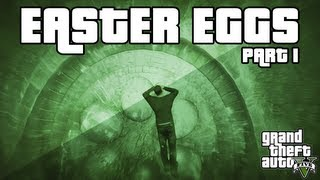 GTA 5 Easter Egg Compilation (UFO, Zombie, Frozen Alien