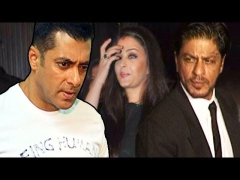 Salman Khan missed a celebration because of Shahrukh Khan & Aishwarya Rai Bachchan? | Bollywood News