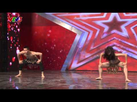 Vietnam's Got Talent 2014 - Cô giáo mần non nhảy HipHop - TẬP 04 - Lan Anh & Tùng Lâm